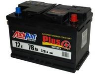 Autobaterie 12V  78Ah AUTOPART PLUS 720A 278x175x190mm