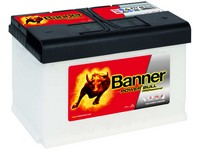 Autobaterie 12V  77Ah POWER BULL PROfessional  680A 278x175x190mm