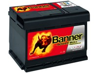 Autobaterie 12V  63Ah POWER BULL PROfessional 600A 241x175x175mm