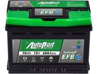 Autobaterie 12V  70Ah AUTOPART GALAXY EFB Start-Stop 650A 278x175x175mm