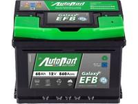 Autobaterie 12V  60Ah AUTOPART GALAXY EFB Start-Stop 560A 242x175x175mm