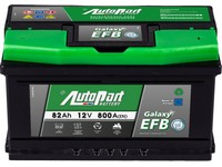 Autobaterie 12V  82Ah AUTOPART GALAXY EFB Start-Stop 800A 315175x190mm